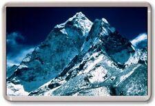 FRIDGE MAGNET - MOUNT EVEREST - Large Jumbo - Nepal Blue White