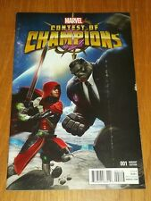 CONTEST OF CHAMPIONS #1 MARVEL COMICS VARIANT