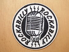 ECUSSON PATCH THERMOCOLLANT MICRO MICROPHONE ROCKABILLY jazz blues bluegrass