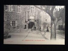 Carte postale ancienne Granville  (Manche) La Grande Porte