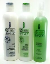 Dr Ross' biogem NORMAL to DRY hair shampoo conditioner treatment set