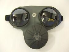 Gas Mask~ Steampunk ~ Glasses ~ cosplay ~ goggles ~ Dr Who ~ WW1 WW2