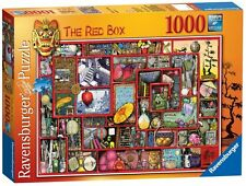 RAVENSBURGER PUZZLE*1000 TEILE*COLIN THOMPSON*THE RED BOX*RARITÄT*OVP