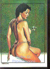THE NEW AMERICAN PINUP - Clearchrome Chase Card - MARK ROGERS