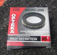 Opteka 10x HD2 High Definition II Wide Angle Macro Lens 52mm Digital Camera