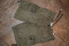 HOLLISTER ABERCROMBIE & FITCH MENS  CARGO SHORTS LOT ARMY GREEN  Kaki 32 33