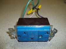 Hubbell Type 912 Surge Suppressor Outlet 125V 60Hz Blue *FREE SHIPPING*