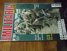 7µ? Revue Armes Militaria n°201 Commandos GB Dague Officier yougoslave