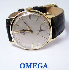 Swiss Made Solid 14k OMEGA Winding Watch c.1950s Cal 265* EXLNT* SERVICED