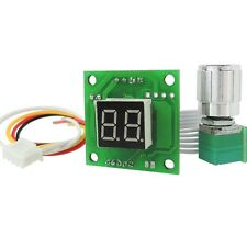 6V-28V 10A Motor Electronic Pump Fan Speed Control Module with Digital Display