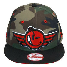 NEW Authentic YUMS New Era Aviation Woodland Camo/Red Snapback 422S