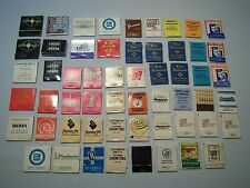 Vintage Mixed Advertising Collectible Match Book Covers