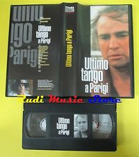 film VHS ULTIMO TANGO A PARIGI marlon brando L'UNITA' COLLECTION (F33*) no dvd