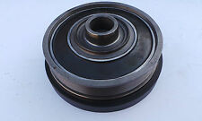 OE QUALITY CRANKSHAFT PULLEY AND DAMPER LAND ROVER DISCOVERY 2 TD5 2.5