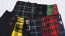 PROFESSIONAL SCOTTISH HIGHLAND ACTIVE MEN TARTEN KILT CHOOSE ANY