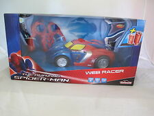 THE AMAZING SPIDER-MAN WEB RACER RC CAR 1:16 SCALE
