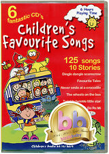 Children's Favourite Songs. 6 CD pack NEW & FACTORY SEALED DIRECT FROM PUBLISHER