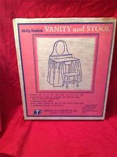 VINTAGE HOLLY HOBBIE VANITY AND STOOL (ATF)    RARE, NEW IN BOX, NEVER OPENED