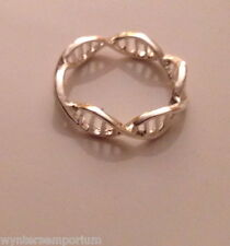 DNA Structure Double Helix Lab Science Geek Ring