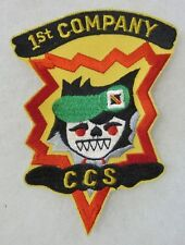 CCS SPECIAL FORCES 1st COMPANY Post VIETNAM WAR PATCH for VETERANS & COLLECTORS