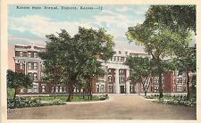 Kansas State Normal School in Emporia KS Postcard