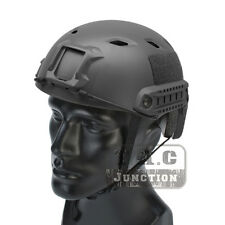 Emerson Tactical Fast Helmet BJ Type Bump Base Jump Airsoft Helmet w/ Side Rail
