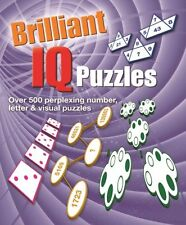 Brilliant IQ Puzzles by Arcturus Publishing (Paperback, 2015)