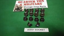 Jeep Willys MB GPW Half Door socket kit A3051 100% correct G503