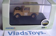 """Oxford Military 1/76 Series 1 Land Rover 88"""" canvas top Sand/Military LAN188002"""