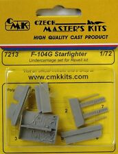 CMK SP7213 Resin 1/72 Revell F-104G Starfighter Undercarriage set