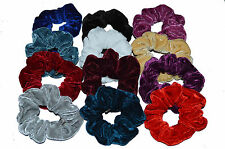 HAIR SCRUNCHY BOBBLE PACK OF 12 VERY GOOD QUALITY