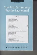 Tort Trial & Insurance Practice Law Journal Winter 2015 Vol 50 Iss 2 (EY-47)