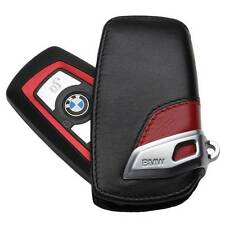 BMW Sport Line Red Genuine Key Case FOB Holder Fits 2012 & Up OEM 82292219909