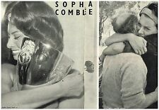 Coupure de presse Clipping 1958 (4 pages) Sophia Loren