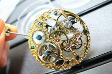 Fashionable Parnis Jewels 6497 Rose Golden Movement