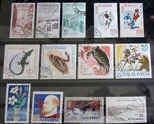 Briefmarken Rumänien Lot mit alte Marken