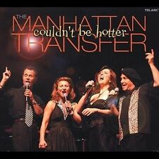 THE MANHATTAN TRANSFER - Couldn't Be Hotter - DIGIPAK -CD-NEW