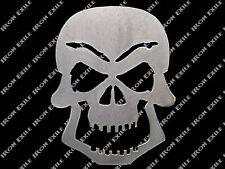 Small Skull 03 Metal Stencil Garage Art Hot Rat Rod Motorcycle Chopper Kustom
