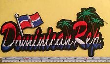 DOMINICAN REPUBLIC REPUBLICA DOMINICANA BANDERA IRON ON SEW ON EMBROIDERED PATCH