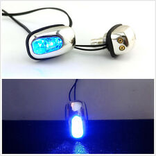 One Pair Blue LED Car Front Windshield Squirter Jet Nozzle Eye Lights For Holden