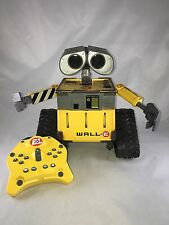 Disney Pixar Thinkway Wall-E U-Command interactive robot with remote 10'' R/C