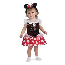 MINNIE MOUSE Clubhouse Disney Child Toddler Costume 12-18 months Disguise 5390