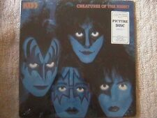 "KISS ""CREATURES OF THE NIGHT"" PICTURE DISC LP FACTORY SEALED RARE !!!"