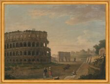 The Colosseum John Inigo Richards Italien Rom Bauwerke Ruine Arena B A1 02639