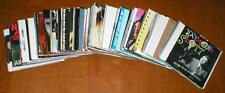Lot of 100 CD Jewel Case Artwork Pieces - Rear Inserts with Front Case Booklets