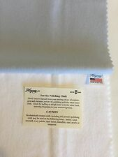 NEW! Large Hagerty Jewelry Polishing Cloth, Silver-Gold-Platinum, Free Shipping!