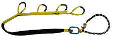SPREADER BAR, LIFTER BAR STRAP KIT for VEHICLE LIFTING includes 4 Lifting Straps