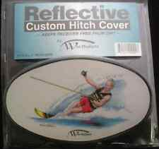 WES REFLECTIVE CUSTOM HITCH COVER Water Skier 4057