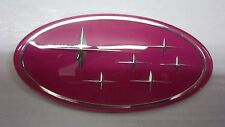 Subaru legacy forester pink sti wrx grille badge emblème grill