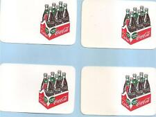 COCA-COLA UN-FINISHED BUSINESS CARD, A 6 PK CARTON KING SIZE COKE LOT OF (4)